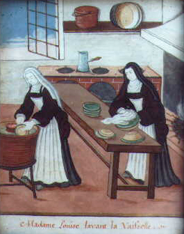 """Résultat de recherche d'images pour """"Madame Louise lavant la vaisselle"""""""