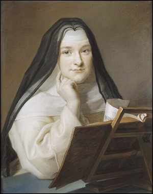 Madame Louise de France en carmelite - JPEG - 90 ko